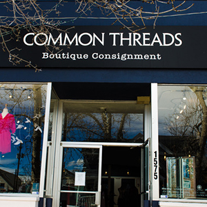 5db9e222d81 Common Threads is a high-end consignment boutique featuring a curated  collection of women s clothing
